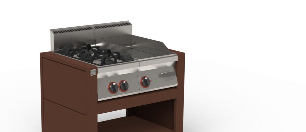 Piano cottura esterno termosifoni in ghisa scheda tecnica - Cucina da esterno ...