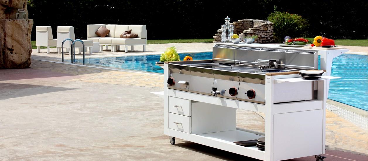 CUBE Cucine da esterno 1600 - FIVESTARSITALY