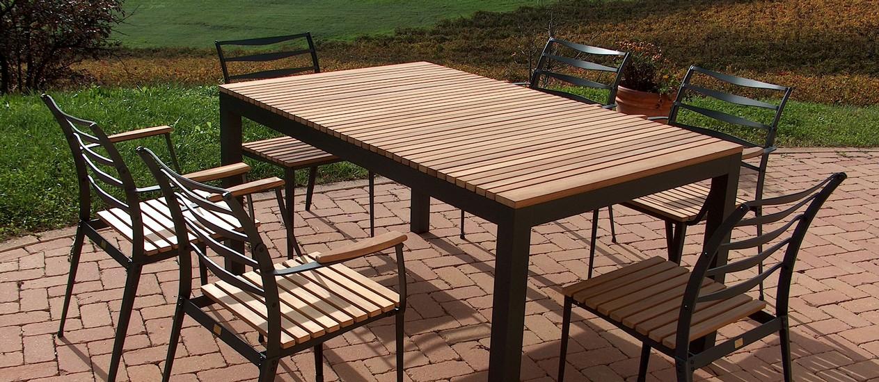 Produzione Tavoli Da Giardino.Fivestarsitaly Realizza Tavoli E Sedie Da Giardino In Alluminio E
