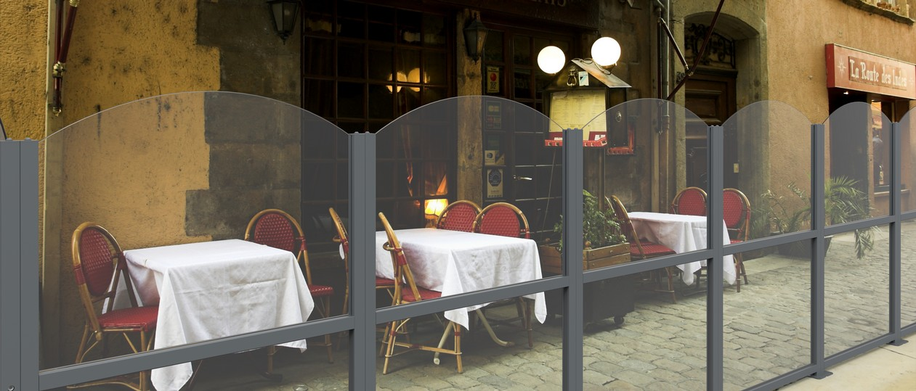 Paravento da esterno per locali e bar - FIVESTARSITALY