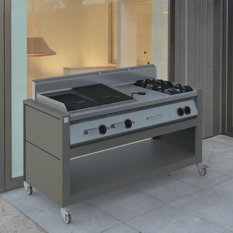 Prodotti per esterno arredo coperture cucine paravento - Cucina in muratura da esterno ...
