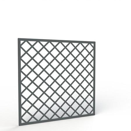 Fioriere e grigliati da esterno in alluminio per giardini for Grigliati in alluminio per terrazzi prezzi