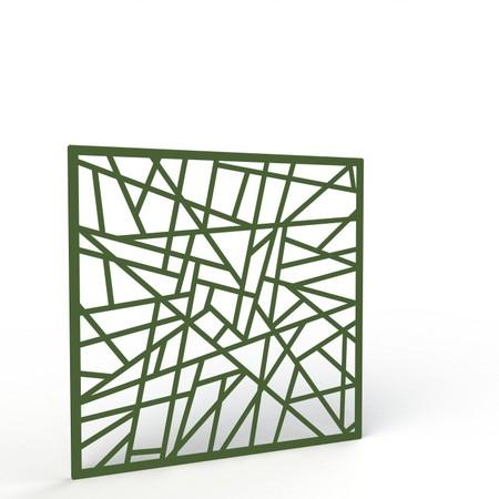 Fioriere e grigliati da esterno in alluminio per giardini for Divisori da giardino