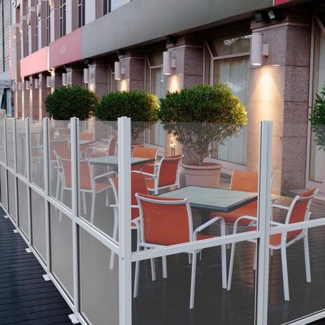 Paravento da esterno frangivento e divisori per locali e for Divisori da esterno
