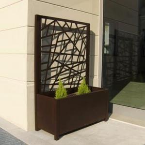 Fioriere e Grigliati da esterno in alluminio, per giardini e ...